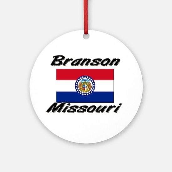 Branson Missouri Ornament (Round)