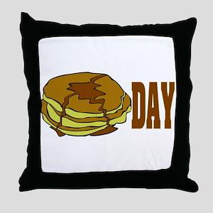 pancakeday Throw Pillow