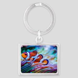 Clownfish Landscape Keychain