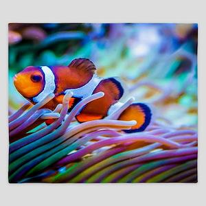 Clownfish King Duvet