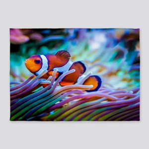 Clownfish 5'x7'Area Rug
