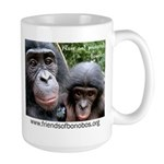 Friends Of Bonobos Large Mug Mugs