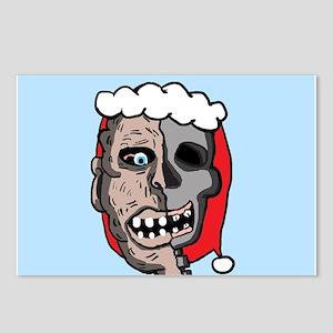 Zombie Santa Postcards (Package of 8)
