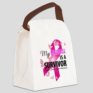 my grandma is a survivor Canvas Lunch Bag