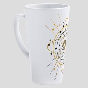 Atom 17 oz Latte Mug