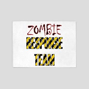 zombie apocalypse response team 5'x7'Area Rug