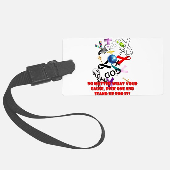 Your Cause Luggage Tag