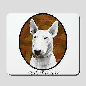 Bull Terrier Oval-2 Mousepad