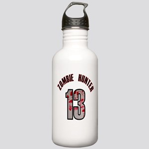 13 apocalypse zombie h Stainless Water Bottle 1.0L