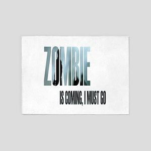 Zombie Apocalypse Survivor 5'x7'Area Rug