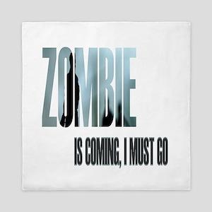 Zombie Apocalypse Survivor Queen Duvet