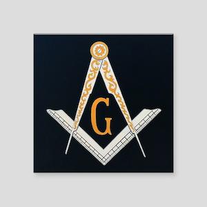 Masonic Symbol Sticker
