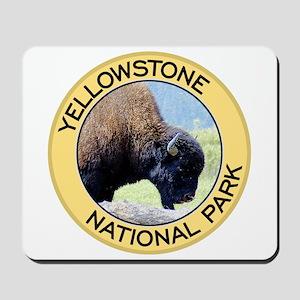 Yellowstone NP (Bison) Mousepad