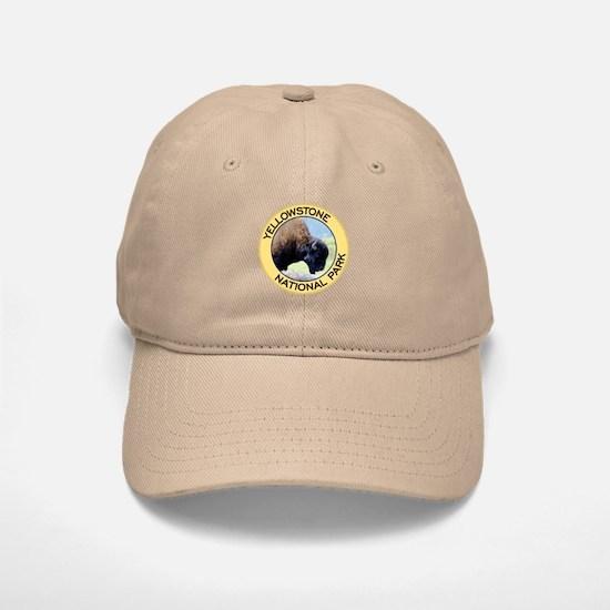 Yellowstone NP (Bison) Baseball Baseball Cap