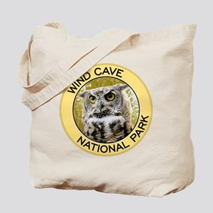 Wind Cave NP (Great Horned Owl) Tote Bag