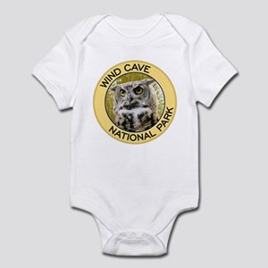 Wind Cave NP (Great Horned Owl) Infant Bodysuit