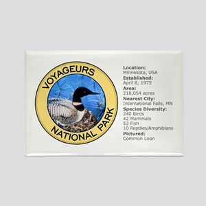 Voyageurs NP (Loon) Rectangle Magnet