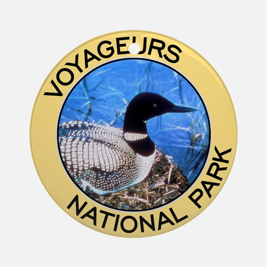 Voyageurs NP (Loon) Ornament (Round)