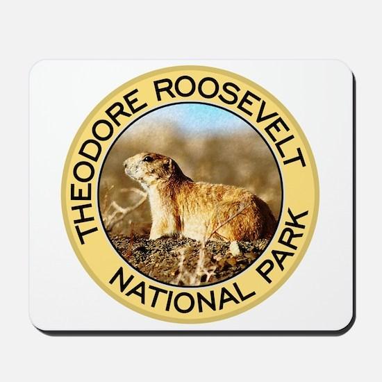 Theodore Roosevelt NP (Prairie Dog) Mousepad