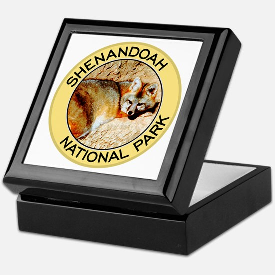 Shenandoah NP (Gray Fox) Keepsake Box