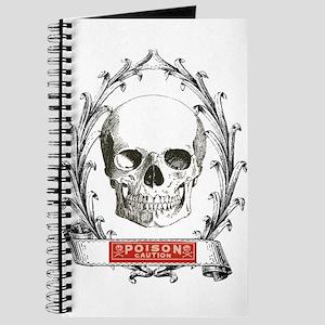 poison steampunk skeleton skull Journal
