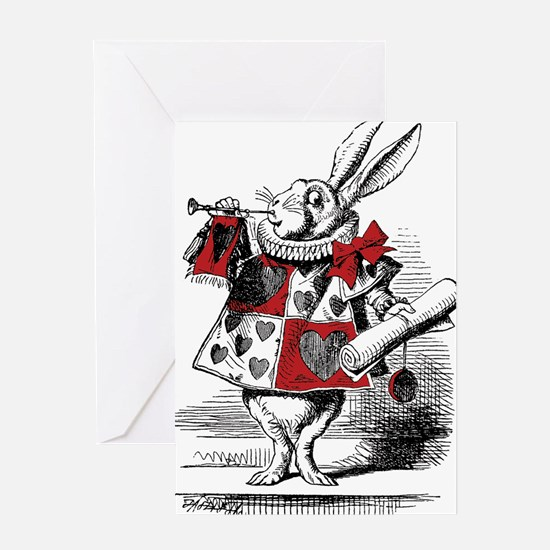 Funny John tenniel Greeting Card