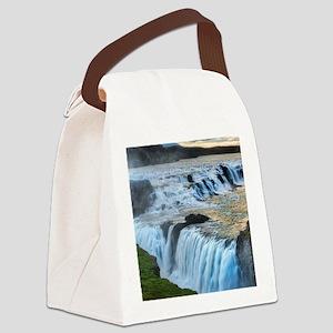 GULLFOSS WATERFALLS 2 Canvas Lunch Bag