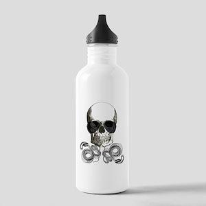 rock n roll skeleton s Stainless Water Bottle 1.0L