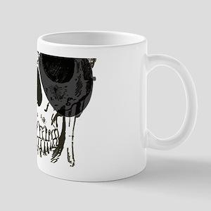 rock n roll skeleton skull Mugs
