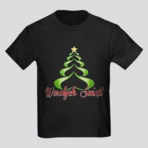 Wesolych Swiat Ribbon Tree T-Shirt