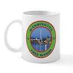 State of Washington Free Mason Mug