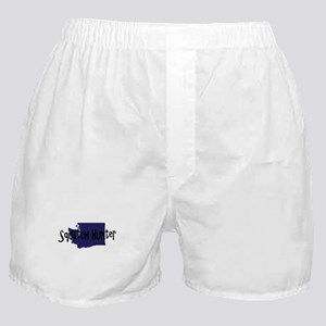 Washington Squatch Hunter Boxer Shorts