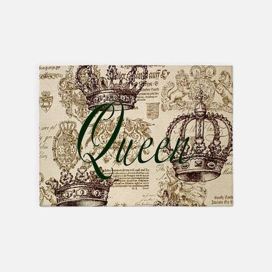 Queen 5'x7'Area Rug