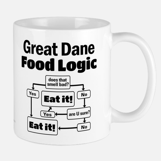 Great Dane Food Mug