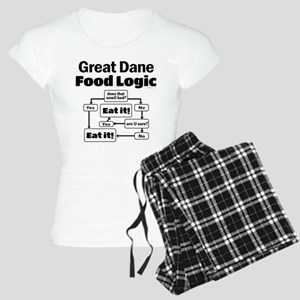 Great Dane Food Women's Light Pajamas