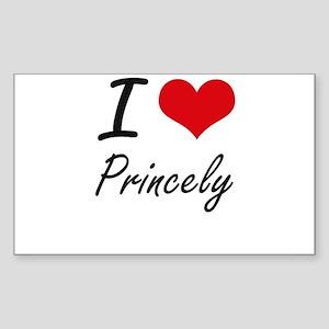 I Love Princely Sticker