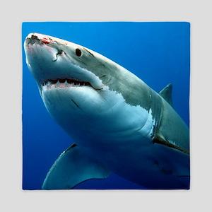 GREAT WHITE SHARK 3 Queen Duvet