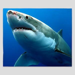 GREAT WHITE SHARK 3 King Duvet