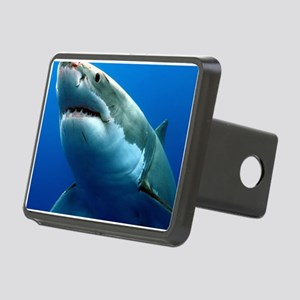 GREAT WHITE SHARK 3 Rectangular Hitch Cover