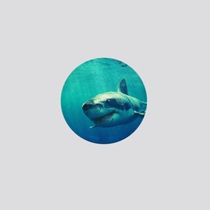 GREAT WHITE SHARK 1 Mini Button