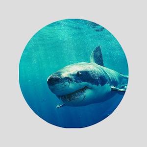 GREAT WHITE SHARK 1 Button