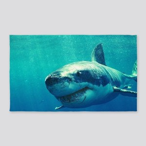 Great White Shark 1 Area Rug