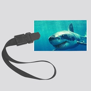 GREAT WHITE SHARK 1 Large Luggage Tag
