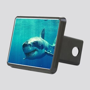 GREAT WHITE SHARK 1 Rectangular Hitch Cover