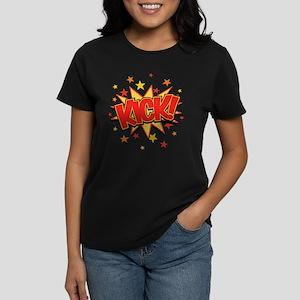 KICK! Women's Dark T-Shirt