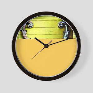 Double Venus Dolphin - Y Wall Clock