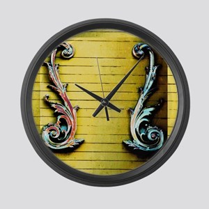 Double Venus Dolphin YW Large Wall Clock