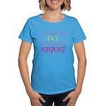 If Monkeys Could Fly Women's Dark T-Shirt