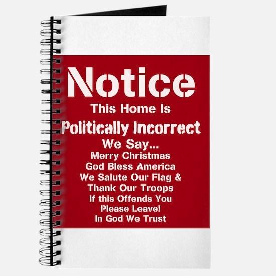 Politically Incorrect Journal