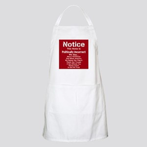Politically Incorrect Apron